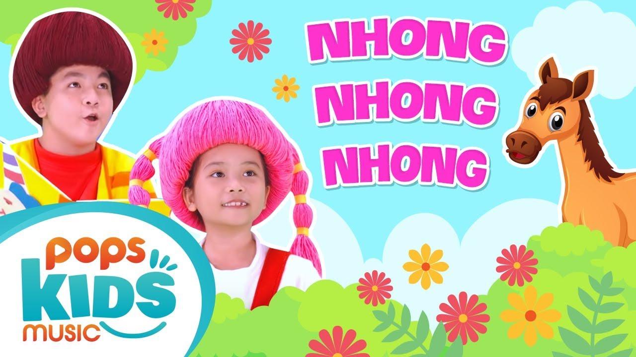 Mầm Chồi Lá – Nhong Nhong Nhong | Nhạc Thiếu Nhi Vui Nhộn – Kids Songs – Nursery Rhymes