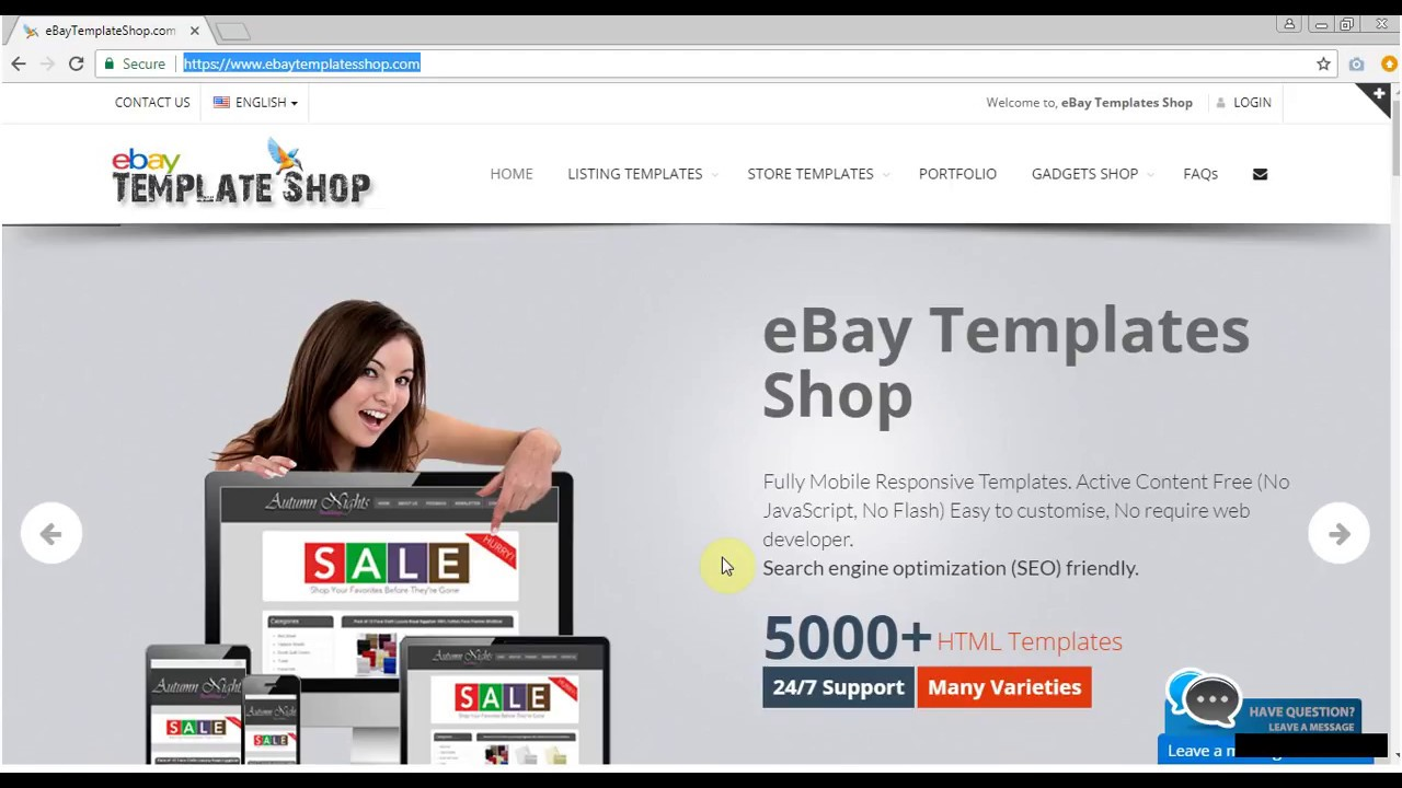 eBay Listing Template - HTML Editor - YouTube