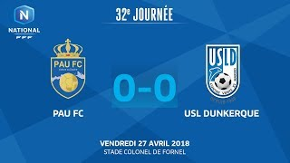 Pau vs Dunkerque full match