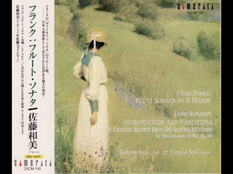 César Franck: Flute Sonata in A Major (1st mov.)   -  Kazumi Sato