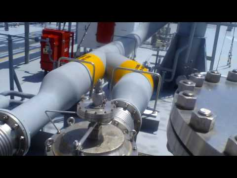 LNG vessel Trunk Deck Tour
