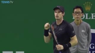 Murray Hits Turnaround Lob Winner In Shanghai 2016