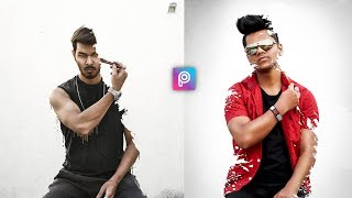 PicsArt 3D New Concept Paint Myselft Art Photo Editing Tutorial in Picsart | Edit Like Vijay Mahar