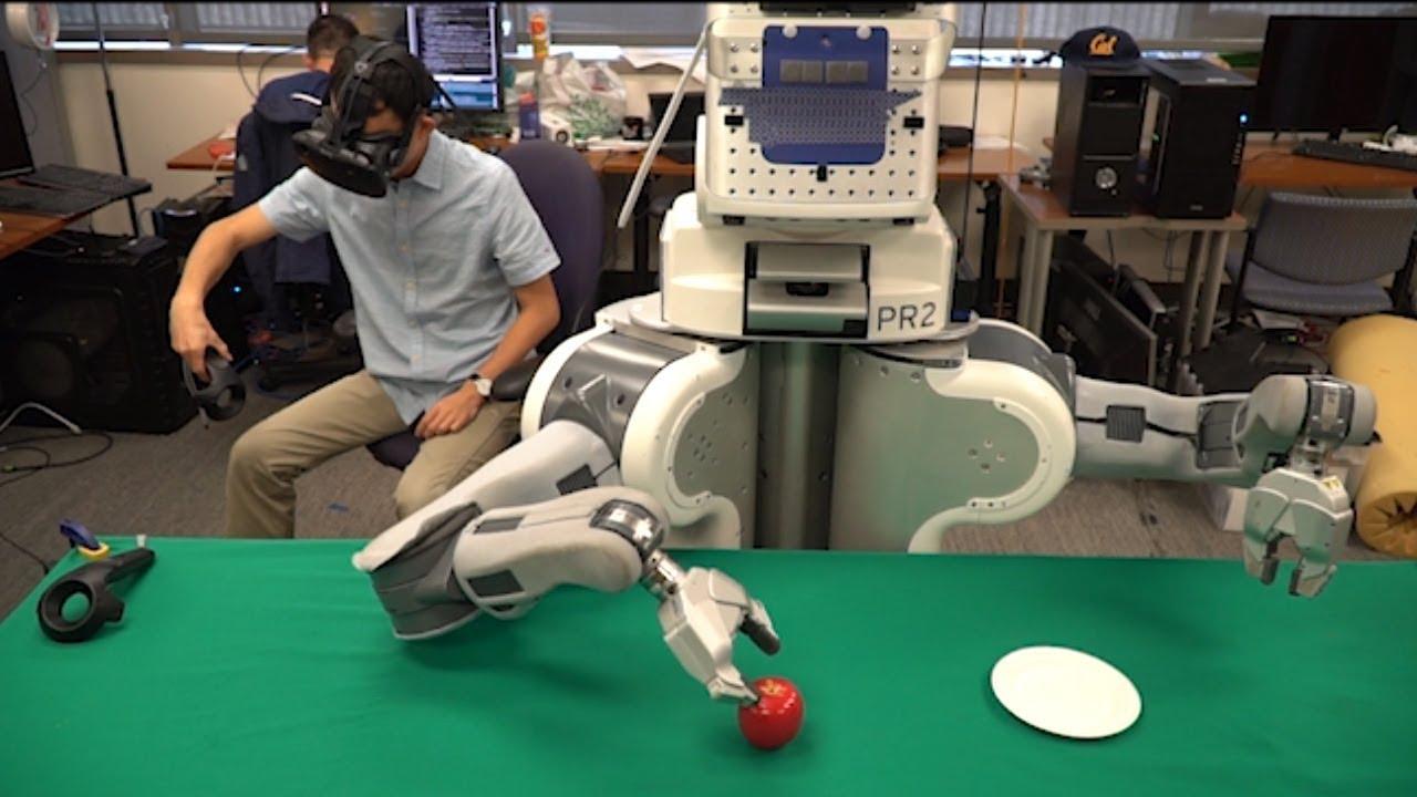 Robots Learn To Move Like Humans Using Virtual Reality