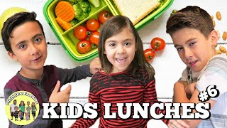 KIDS SCHOOL LUNCH IDEAS | KIDS PACKING THEIR OWN LUNCHES COLLAB w/ THE WADS | PHILLIPS FamBam