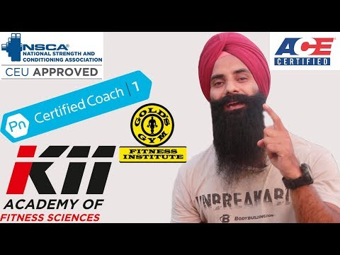 FITNESS CERTIFICATIONS INDIA- 4 Most important things B4 doing any course