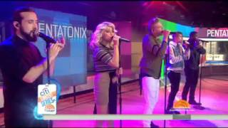 Cracked by Pentatonix Live | Today Show 10/20/15