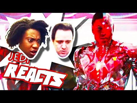 "JEDI REACTS!: ""Justice League"" SDCC Trailer ⚖️"