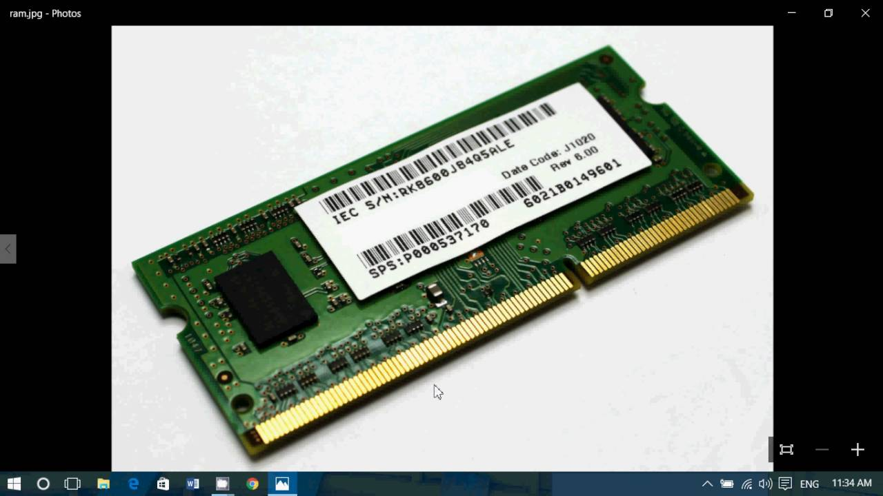 What is needed RAM-memory computer. Brief on standards 22