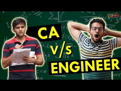 CA vs ENGINEER | Funcho Entertainment | Shyam Sharma | Dhruv Shah
