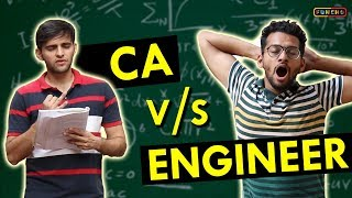 CA vs ENGINEER | Funcho Entertainment | Shyam Sharma | Dhruv Shah