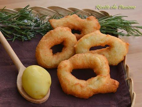 Crispedde con patate - o Zeppole - Ricette che Passione