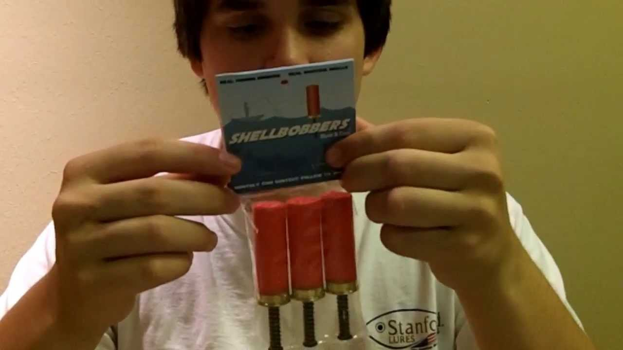 Fishhound Product Review: Fishing Ammo Shell Bobbers - YouTube