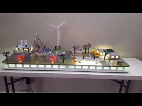Renewable Energy Display - by HiTech Safety Displays