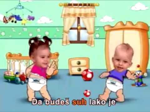 The Molfix - baby bebi reklama long version dugacka verzija za decu