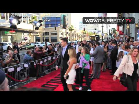 Ashley Tisdale and Scott Speer at the Step Up Revolution Premiere in Hollywood