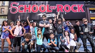 Alex Brightman & Kids Rock Out in Promo Photo Shoot   SCHOOL OF ROCK: The Musical