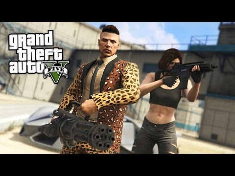 PRISON BREAK!!  (GTA 5 Online Heists)