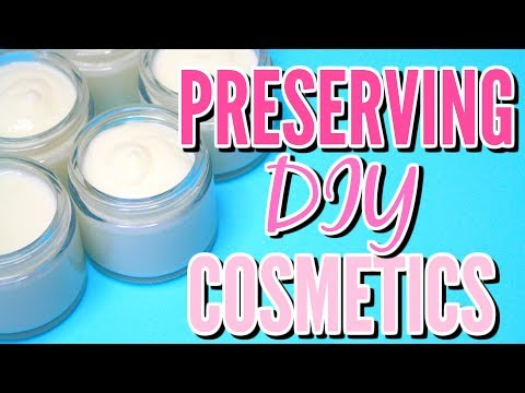 PRESERVING HOMEMADE SKINCARE PRODUCTS Ι TaraLee