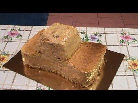 Сборка торта Машина