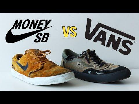 Nike Sb Vs Vans