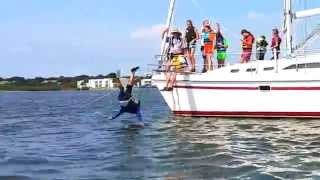 HRYC Day 5 Week 5 Summer Sailing Camp 2015 - Music: Oceans by Hillsong United