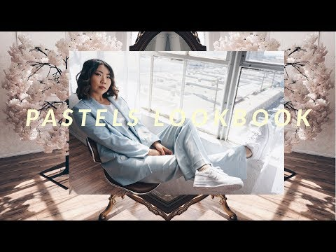 Pastels Lookbook | 5 Pastel Outfits from Zara   Spring 2018 Trend | JULIA SUH