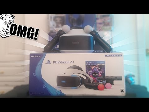 UNBOXING PLAYSTATION VR LAUNCH BUNDLE! (REALIDAD VIRTUAL) - Unboxing #3