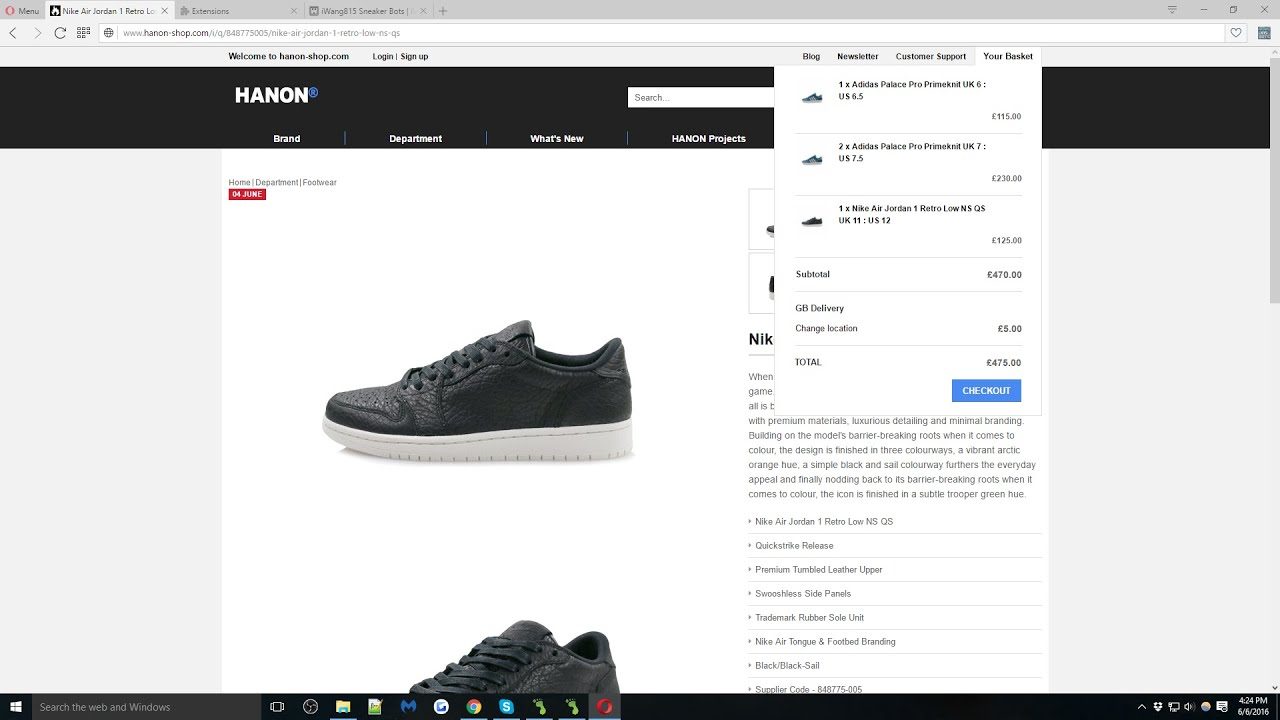 Nike Shoe Bot Download