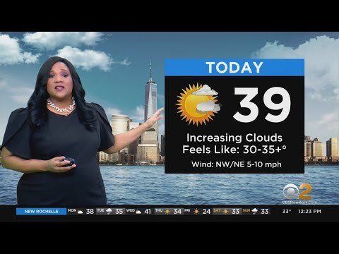 New York Weather: CBS2's 1/25 Monday Afternoon Update
