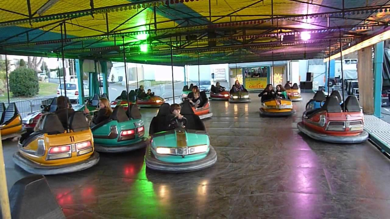 Autos tamponneuses big bang choc capbreton 10 12 2011 youtube - Voiture auto tamponneuse a vendre ...