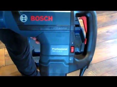 Видео обзор: Перфоратор SDS-max BOSCH GBH 12-52 D