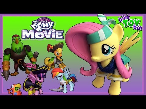 My Little Pony The Movie - Pirate Fluttershy With Angel