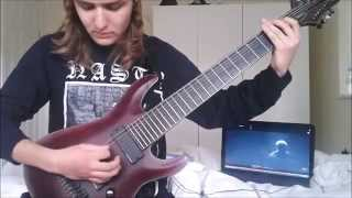 Thy Art Is Murder - Holy War (Guitar Cover)
