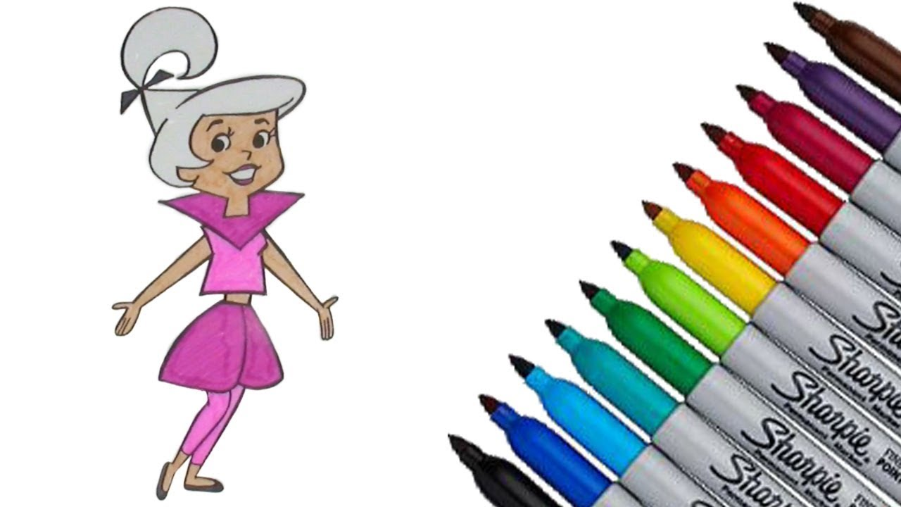 The Flintstones Coloring page 2017 New HD Video for Kids - YouTube