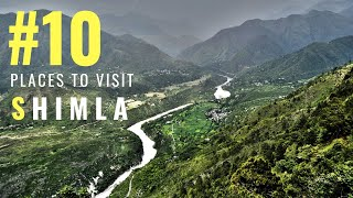 Top 10 Places in Shimla | Tourist Places in Shimla | Hill Station Shimla | Tourism | #007