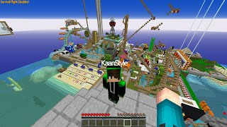 We went to the big amusement park with my brother -Minecraft
