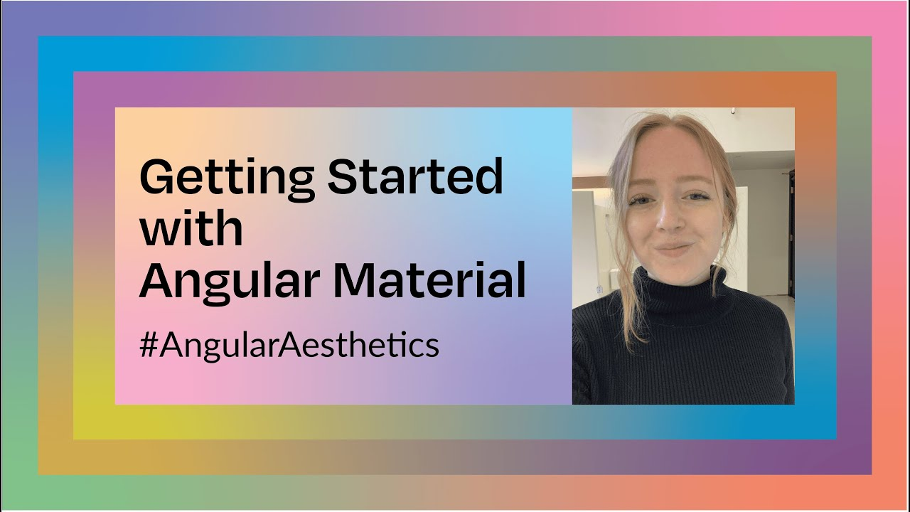 Get Started with Angular Material!