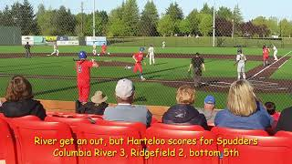 2A district baseball highlights: Columbia River 4, Ridgefield 2
