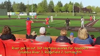 2A district baseball highlights: Columbia River 4, Ridgefield 2