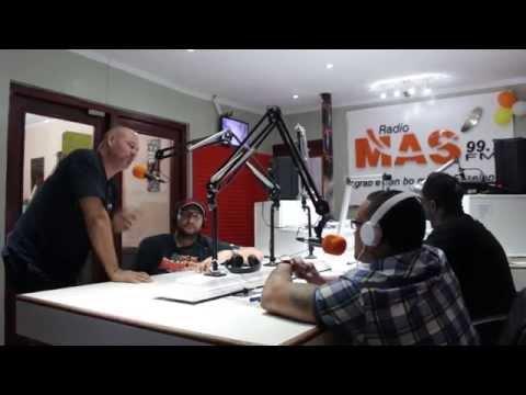 Straight Outta Curacao - Den FEFE FARANDULERO na Radio MAS