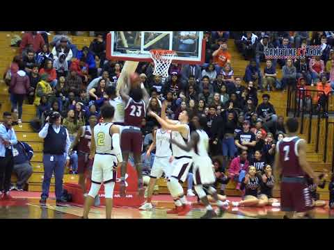 Windsor vs. Sacred Heart Division-I boys basketball semifinals
