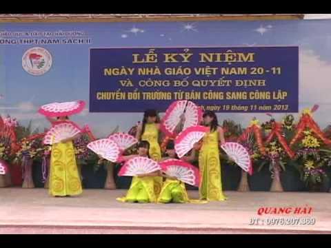 BAI MUA NET VIET - Hoc Sinh Truong THPT Nam sach II
