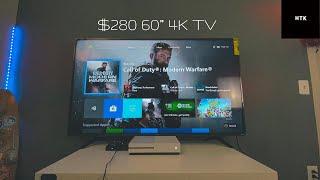"Walmarts 60"" 4K Roku Smart TV Review & SetUp ~ R6 Series"