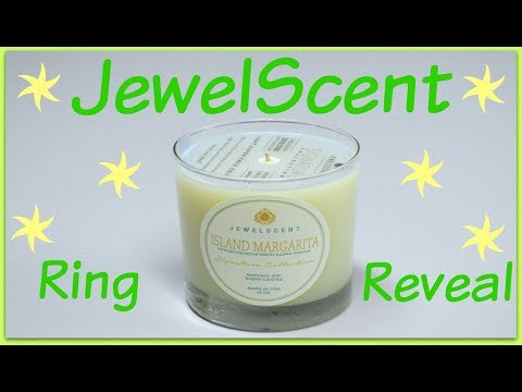 JewelScent Ring Reveal - Island Margarita Candle!