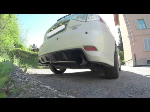 SUBARU Impreza Diesel Exhaust Sound!!