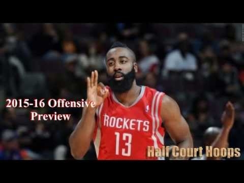 2015-16 NBA Offensive Preview: Houston Rockets
