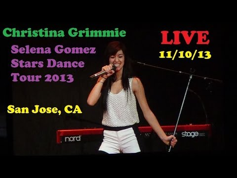 11/10/13 Christina Grimmie LIVE Performance (San Jose)
