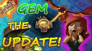 Clash Of Clans | GEM THE UPDATE! | FREE WAY TO GEM THE NEW SUMMER UPDATE 2015!