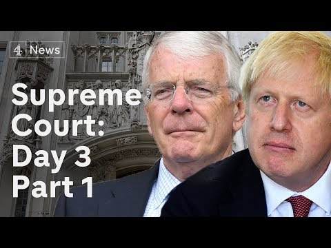 Supreme Court Parliament suspension hearing: Final day LIVE | Brexit